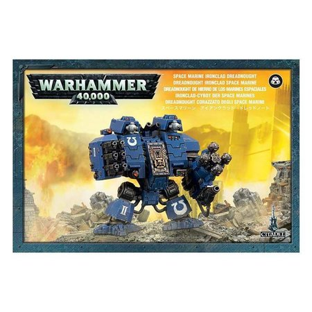 Games Workshop Warhammer 40,000 Imperium Adeptus Astartes Space Marines: Ironclad Dreadnought