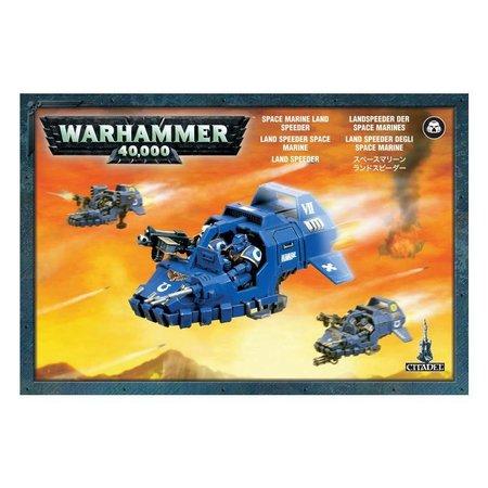 Games Workshop Warhammer 40,000 Imperium Adeptus Astartes Space Marines: Land Speeder