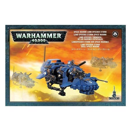 Games Workshop Warhammer 40,000 Imperium Adeptus Astartes Space Marines: Land Speeder Storm