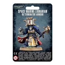 Warhammer 40,000 Imperium Adeptus Astartes Space Marines: Librarian in Terminator Armour