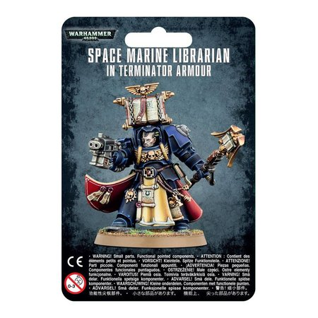 Games Workshop Warhammer 40,000 Imperium Adeptus Astartes Space Marines: Librarian in Terminator Armour
