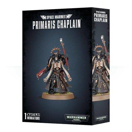 Games Workshop Warhammer 40,000 Imperium Adeptus Astartes Space Marines: Primaris Chaplain