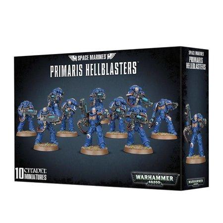 Games Workshop Warhammer 40,000 Imperium Adeptus Astartes Space Marines: Primaris Hellblasters