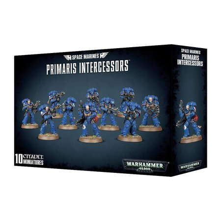 Games Workshop Warhammer 40,000 Imperium Adeptus Astartes Space Marines: Primaris Intercessors
