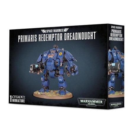 Games Workshop Warhammer 40,000 Imperium Adeptus Astartes Space Marines: Primaris Redemptor Dreadnought