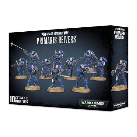 Games Workshop Warhammer 40,000 Imperium Adeptus Astartes Space Marines: Primaris Reivers