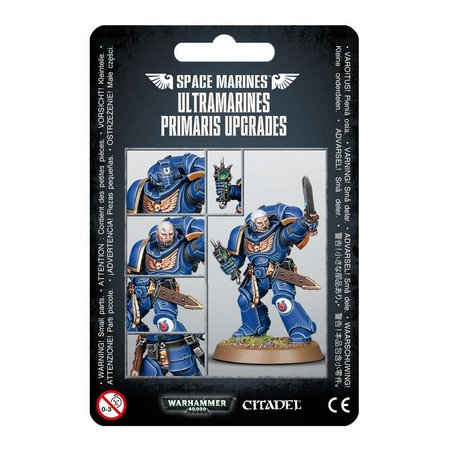 Games Workshop Warhammer 40,000 Imperium Adeptus Astartes Ultramarines: Primaris Upgrades