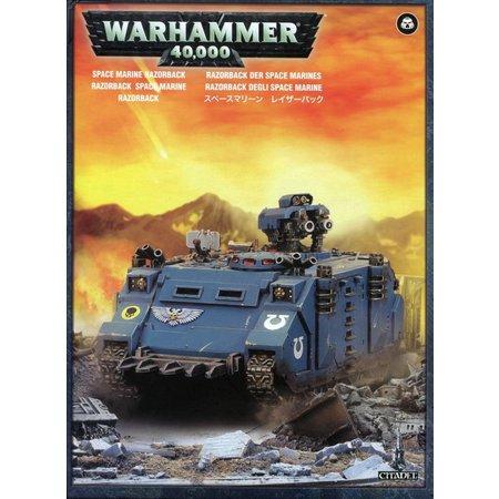 Games Workshop Warhammer 40,000 Imperium Adeptus Astartes Space Marines: Razorback