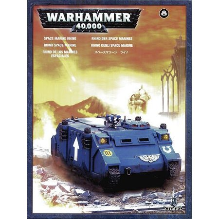 Games Workshop Warhammer 40,000 Imperium Adeptus Astartes Space Marines: Rhino