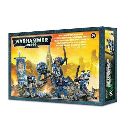 Games Workshop Warhammer 40,000 Imperium Adeptus Astartes Space Marines: Space Marine Command Squad