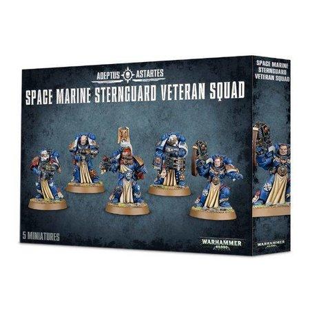 Games Workshop Warhammer 40,000 Imperium Adeptus Astartes Space Marines: Sternguard Veteran Squad