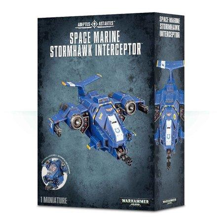Games Workshop Warhammer 40,000 Imperium Adeptus Astartes Space Marines: Stormhawk Interceptor/Stormtalon Gunship