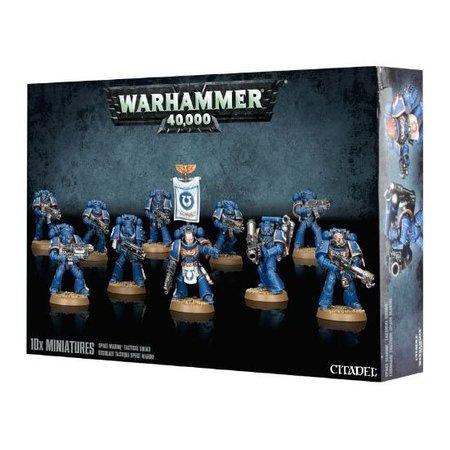 Games Workshop Warhammer 40,000 Imperium Adeptus Astartes Space Marines: Tactical Squad