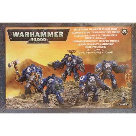 Games Workshop Warhammer 40,000 Imperium Adeptus Astartes Space Marines: Terminator Close Combat Squad