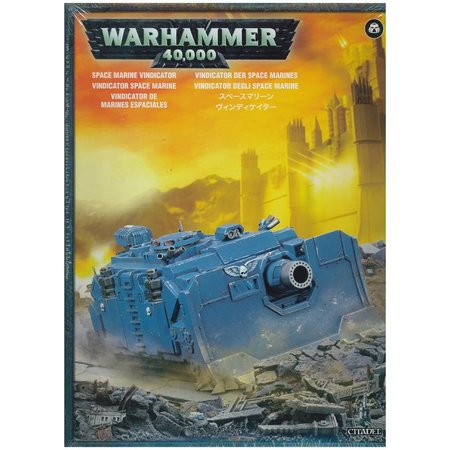 Games Workshop Warhammer 40,000 Imperium Adeptus Astartes Space Marines: Vindicator