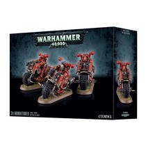 Warhammer 40,000 Chaos Heretic Astartes Chaos Space Marines: Chaos Bikers