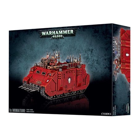 Games Workshop Warhammer 40,000 Chaos Heretic Astartes Chaos Space Marines: Chaos Rhino