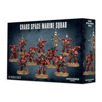 Warhammer 40,000 Chaos Heretic Astartes Chaos Space Marines: Tactical Squad