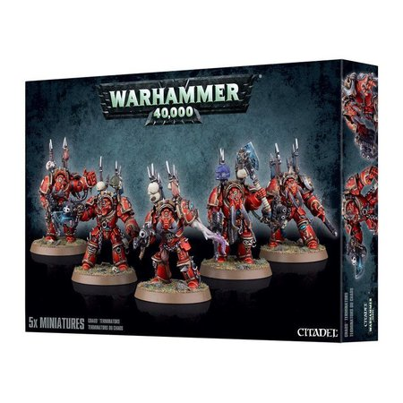 Games Workshop Warhammer 40,000 Chaos Heretic Astartes Chaos Space Marines: Chaos Terminators