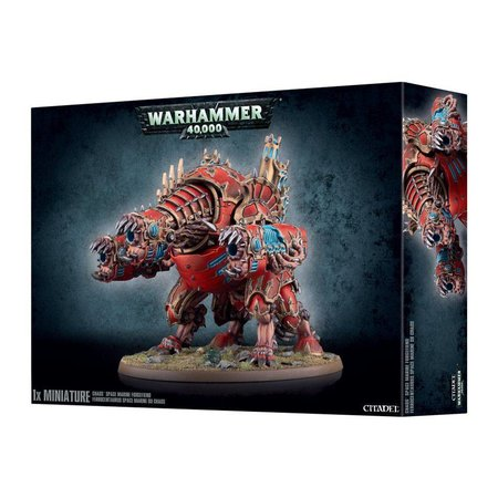 Games Workshop Warhammer 40,000 Chaos Heretic Astartes Chaos Space Marines: Forgefiend/Maulerfiend