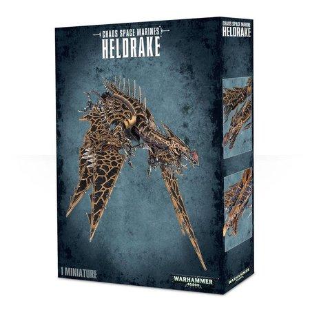 Games Workshop Warhammer 40,000 Chaos Heretic Astartes Chaos Space Marines: Heldrake