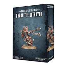 Warhammer 40,000 Chaos Heretic Astartes World Eaters: Khârn the Betrayer