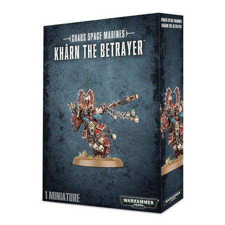 Games Workshop Warhammer 40,000 Chaos Heretic Astartes World Eaters: Khârn the Betrayer