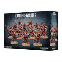 Warhammer 40,000 Chaos Heretic Astartes World Eaters: Khorne Berzerkers