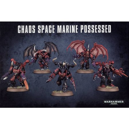 Games Workshop Warhammer 40,000 Chaos Heretic Astartes Chaos Space Marines: Possessed