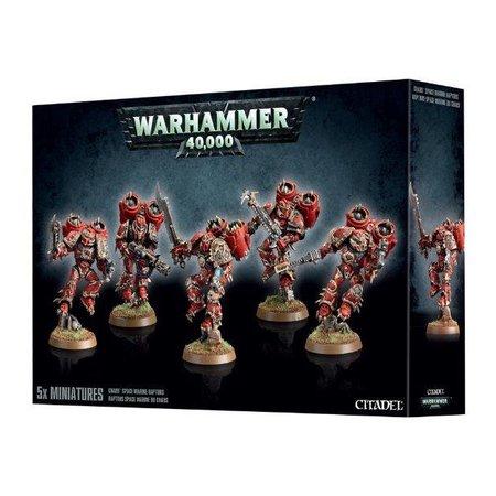 Games Workshop Warhammer 40,000 Chaos Heretic Astartes Chaos Space Marines: Raptors/Warp Talons