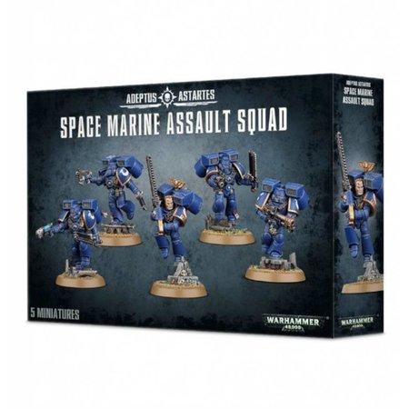 Games Workshop Warhammer 40,000 Imperium Adeptus Astartes Space Marines: Assault Squad