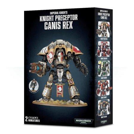 Games Workshop Warhammer 40,000 Imperium Imperial Knights: Canis Rex/Crusader/Errant/Gallant/Knight Preceptor/Paladin/Warden