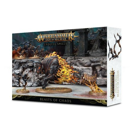 Games Workshop Age of Sigmar: Malign Sorcery - Endless Spells for Beasts of Chaos