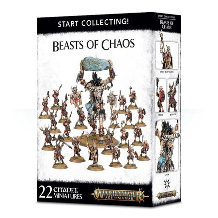 Games Workshop Age of Sigmar Beasts of Chaos Start Collecting Set