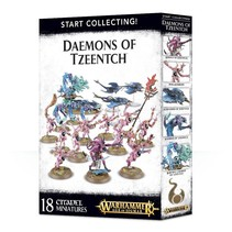 Age of Sigmar/Warhammer 40,000 Daemons of Tzeentch Start Collecting Set