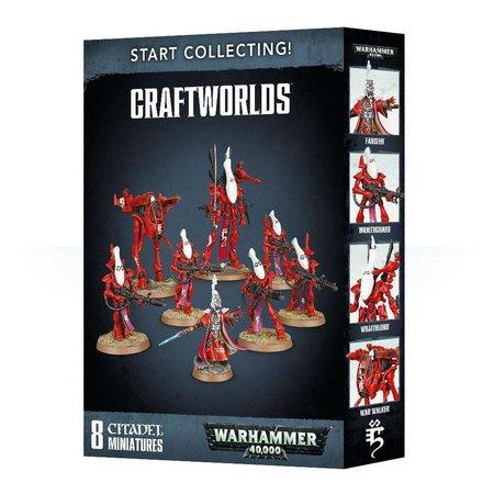 Games Workshop Warhammer 40,000 Xenos Aeldari Craftworlds Start Collecting Set