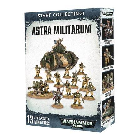 Games Workshop Warhammer 40,000 Imperium Astra Militarum Start Collecting Set