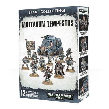 Games Workshop Warhammer 40,000 Imperium Militarum Tempestus Start Collecting Set
