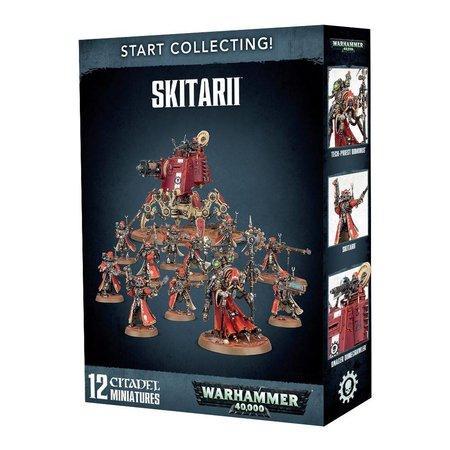 Games Workshop Warhammer 40,000 Imperium Adeptus Mechanicus Start Collecting Set: Skitarii