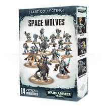Warhammer 40,000 Imperium Adeptus Astartes Space Wolves Start Collecting Set