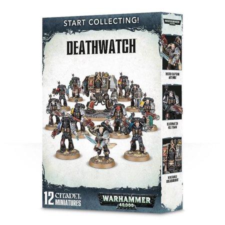 Games Workshop Warhammer 40,000 Imperium Adeptus Astartes Deathwatch Start Collecting Set