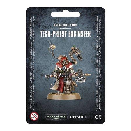 Games Workshop Warhammer 40,000 Imperium Adeptus Mechanicus/Astra Militarum: Tech-Priest Enginseer