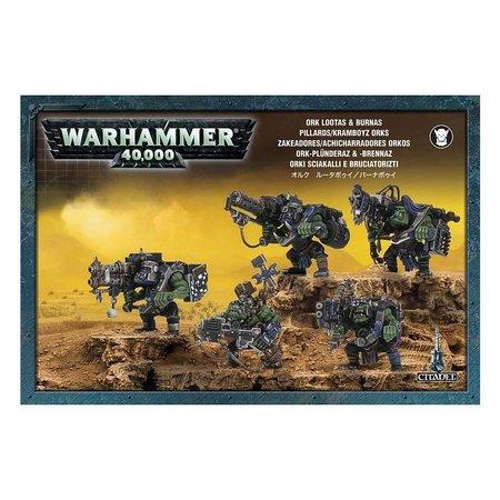 Games Workshop Warhammer 40,000 Xenos Orks: Burna Boyz/Lootas
