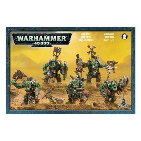 Games Workshop Warhammer 40,000 Xenos Orks: Nobz