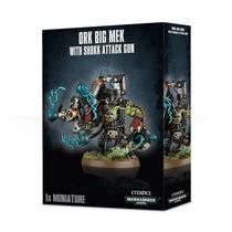 Warhammer 40,000 Xenos Orks: Big Mek with Shokk Attack Gun