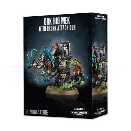 Games Workshop Warhammer 40,000 Xenos Orks: Big Mek with Shokk Attack Gun
