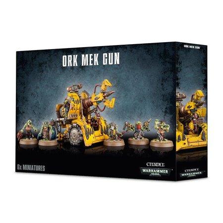 Games Workshop Warhammer 40,000 Xenos Orks: Bubblechukka/Kustom Mega-kannon/Smasha Gun/Traktor Kannon