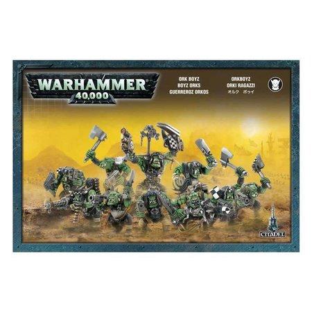 Games Workshop Warhammer 40,000 Xenos Orks: Ork Boyz