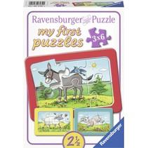 My first puzzles: Schaap, Ezel en Geit (3x6)