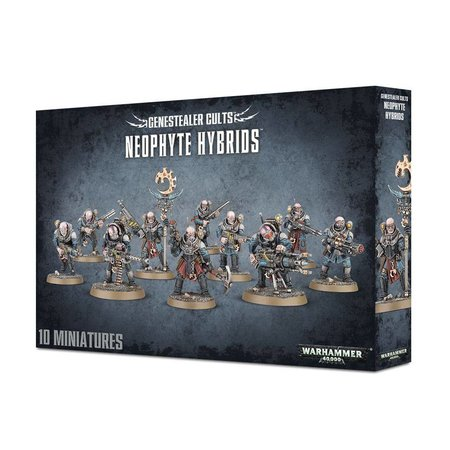 Games Workshop Warhammer 40,000 Xenos Genestealer Cults: Neophyte Hybrid Squad (Modern)